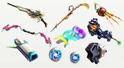 Weapons Are Pits Basic Method Of Battling In Uprising Created By The God Forge Dyntos There Exists 9 Types With About 12 Variants On