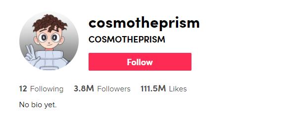 Cosmo The Prism TikTok