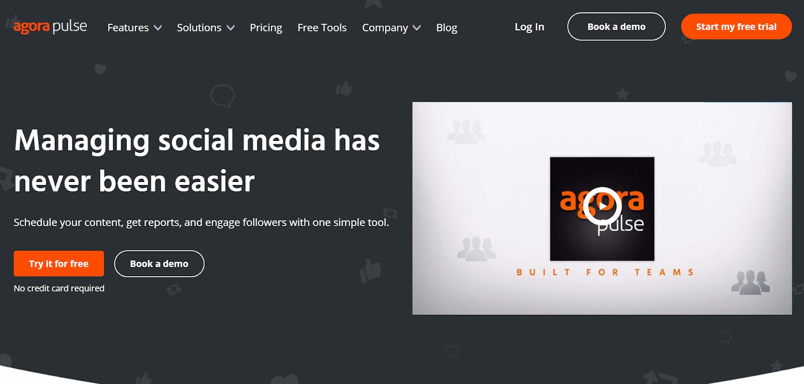 social media marketing tools AgoraPulse