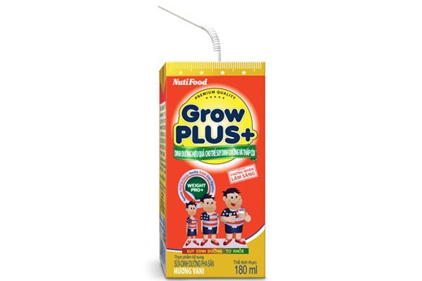 GROWPLUS+ đỏ - dinh dưỡng hiệu quả cho trẻ suy dinh dưỡng, thấp còi