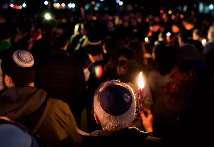 לזכר הנפגעים בבית הכנסת בפיטסבורג