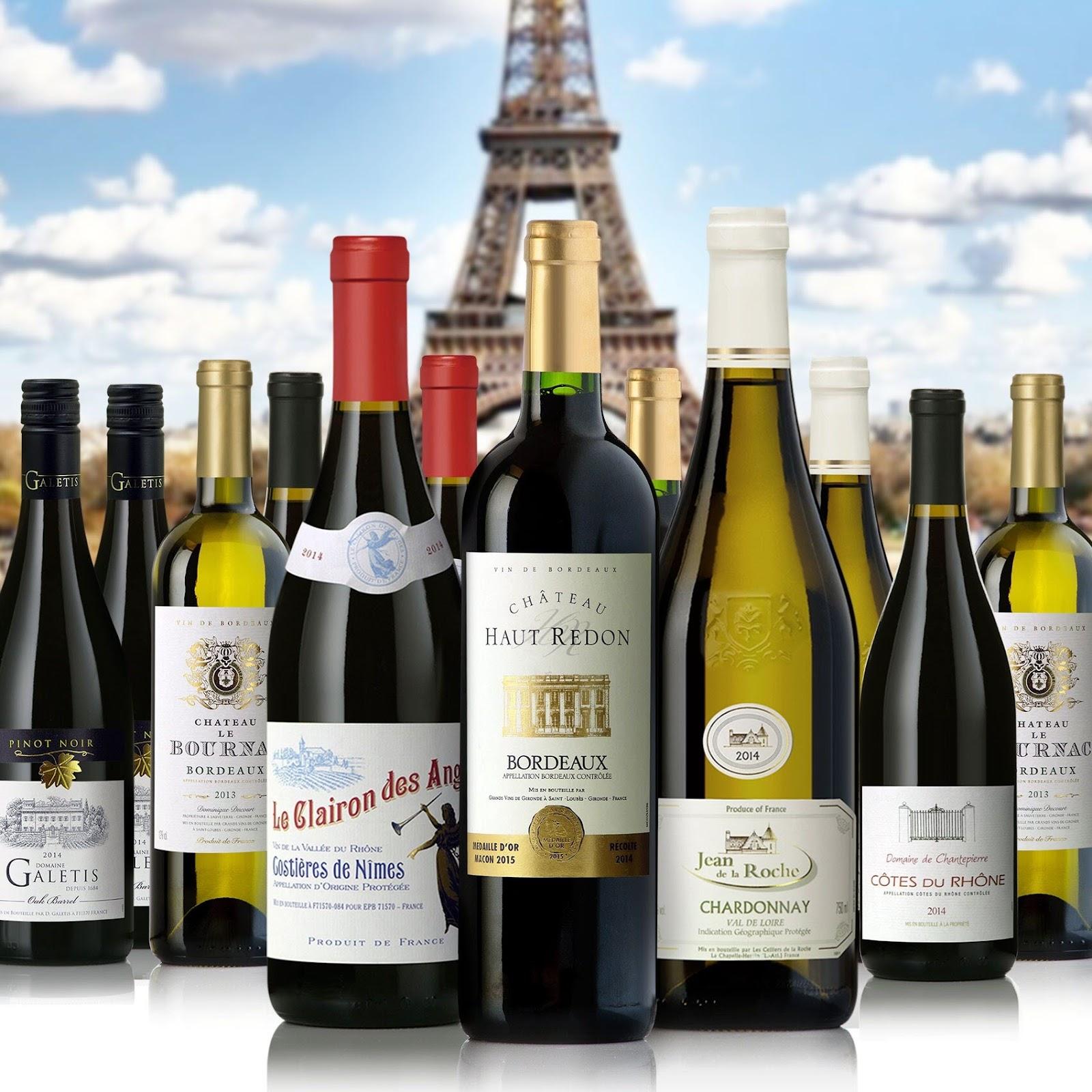 Hương vị của rượu vang Pháp mê ly