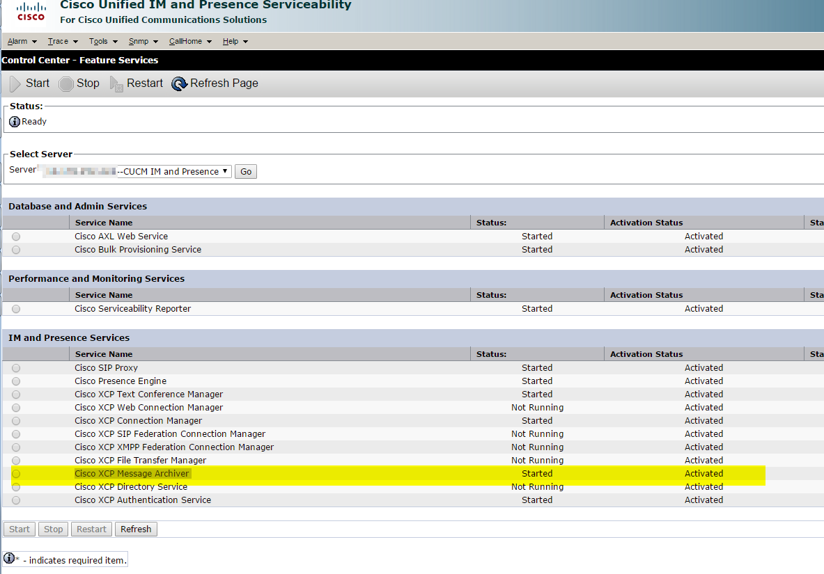 UC Valley: SQL 2014 Express based Jabber IM Compliance Option