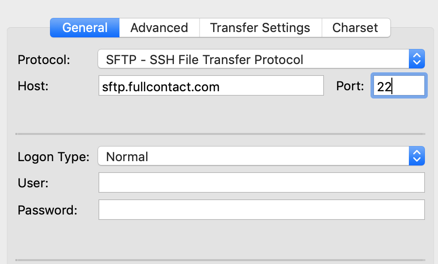 Using sFTP : FileZilla