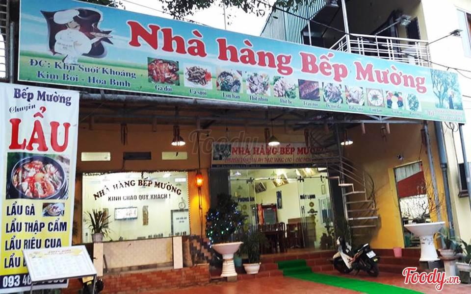 Nhà hàng nổi tiếng nhất Mai Châu
