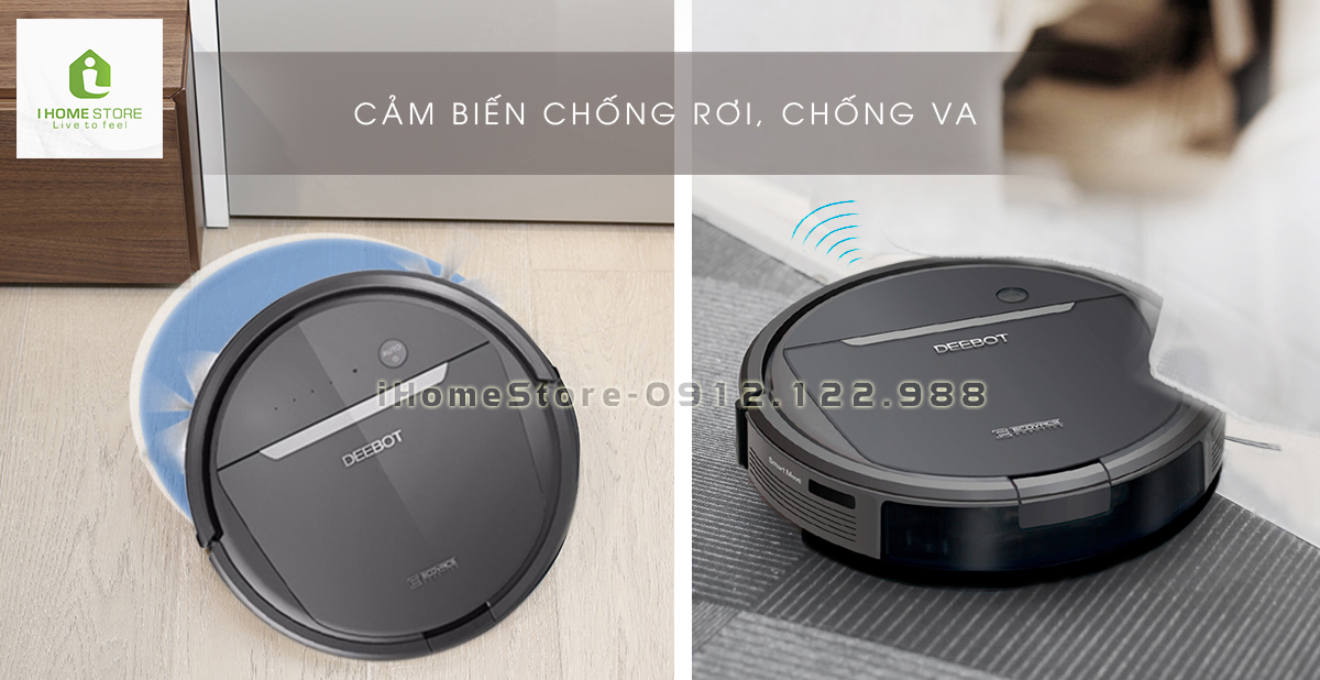 robot hut bui lau nha ecovacs deebot dd35 - ihomestore.vn