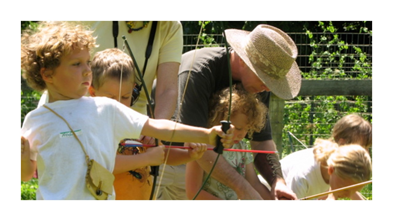 Pete and Linda have been visiting camps for five years and the kids always want them to come back with their bows and arrows and new set ups. Linda & Pete are delightful at gently guiding campers in developing archery skills.