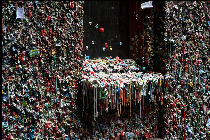 Pike Place Gum Wall: What to do in Seattle's Pike Place Market