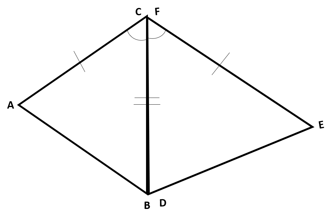 Explain How The Criteria For Triangle Congruence Asa Sas And Sss Follow From The Definition Of Congruence In Terms Of Rigid Motions Common Core High School Geometry