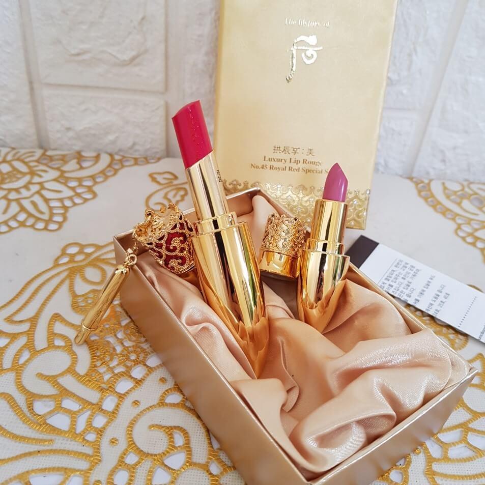 hình ảnh son whoo mi luxury lip rouge màu 13