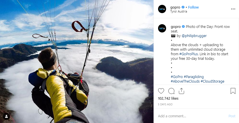 Gopro - user generated content campaign