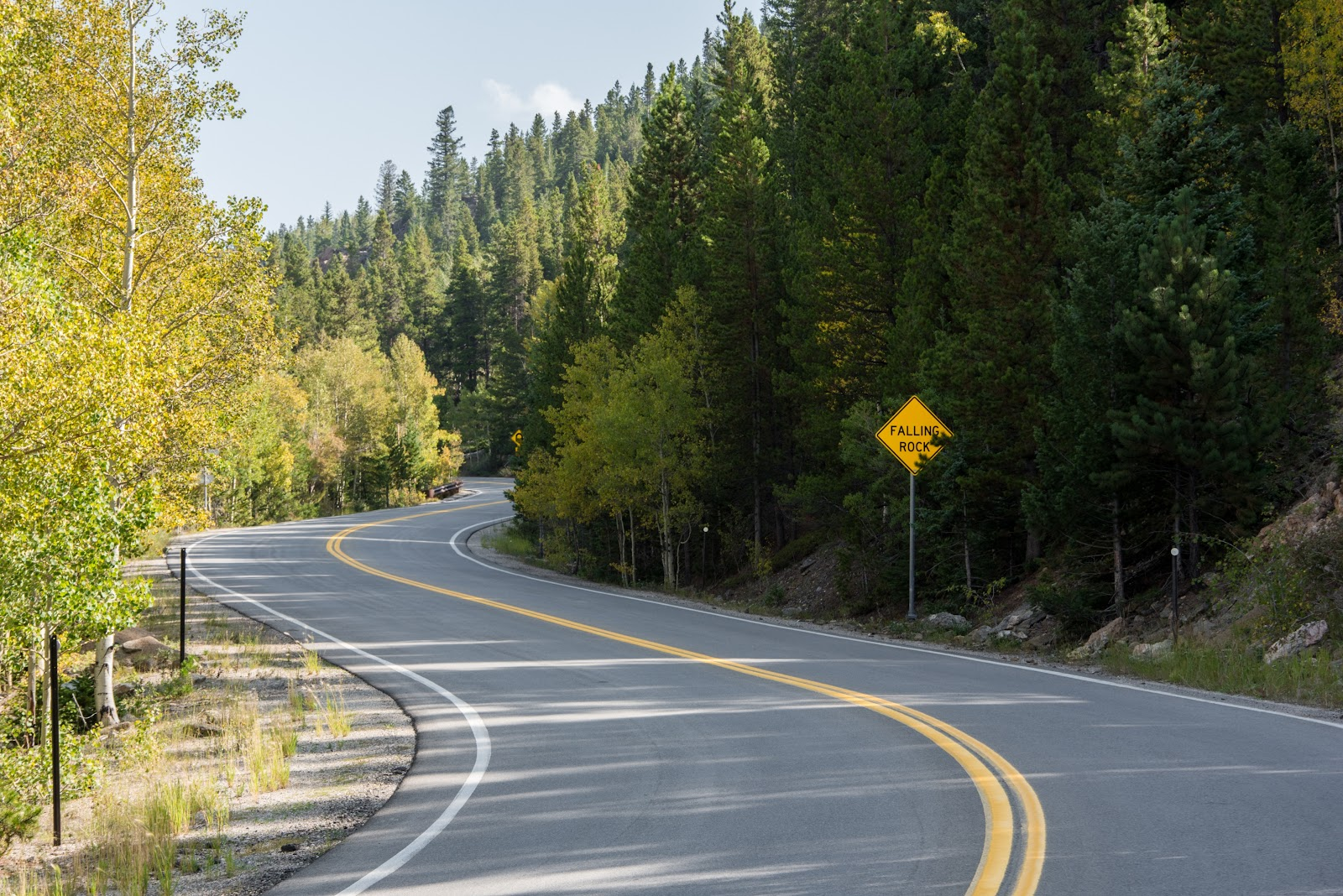 cycling hwy 103 to mt evans