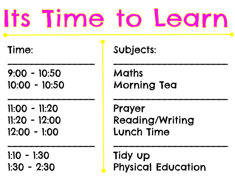 Time Table - Summer learning Journey.jpg