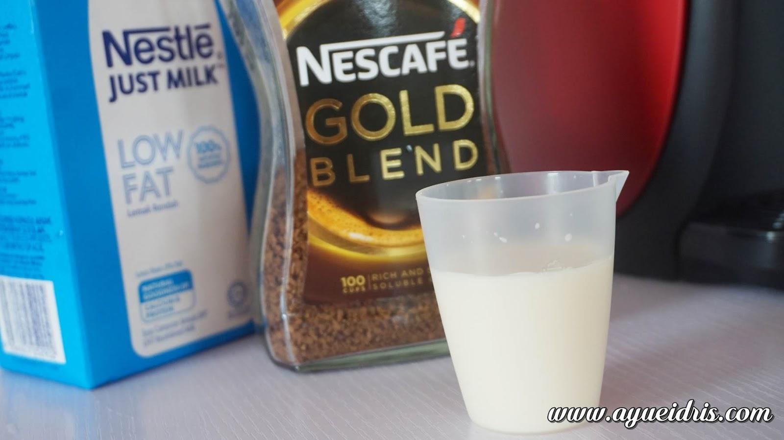 Nescafe Gold Barista Coffee Machine cara guna harga (23).JPG