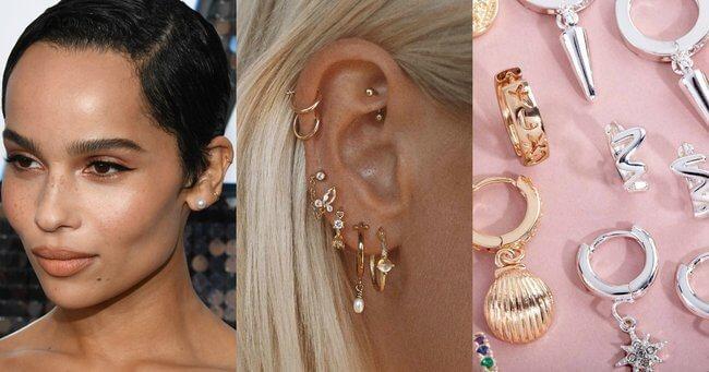 Ear Piercings metal rings