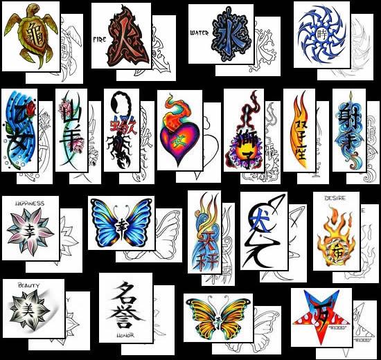 Tatuagens De Caracteres Chineses