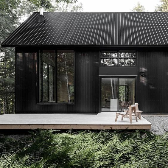5 Rules to Choosing an Exterior Colour Scheme - grey and black