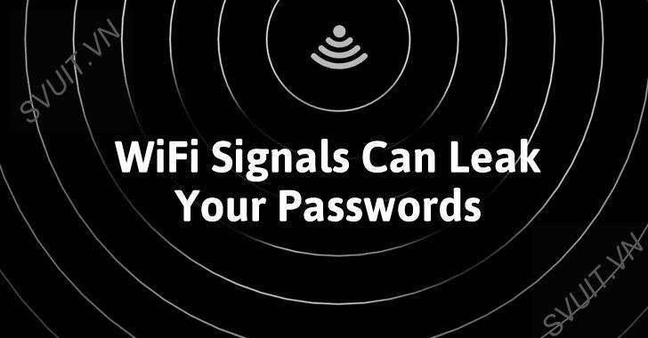 Đánh cắp mật khẩu và bàn phím thông qua tín hiệu WIFI(1)