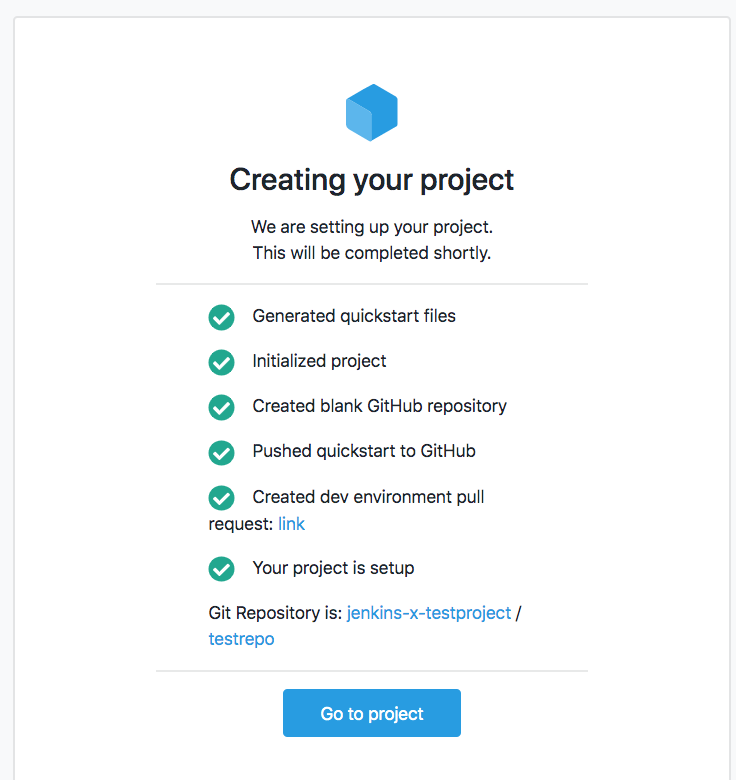 Create Jenkins Project
