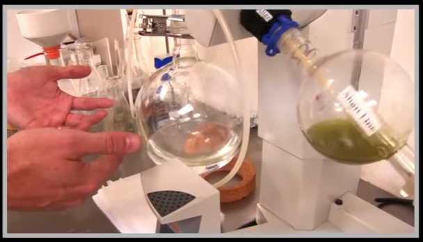 A professional setup for CBD Oil extraction