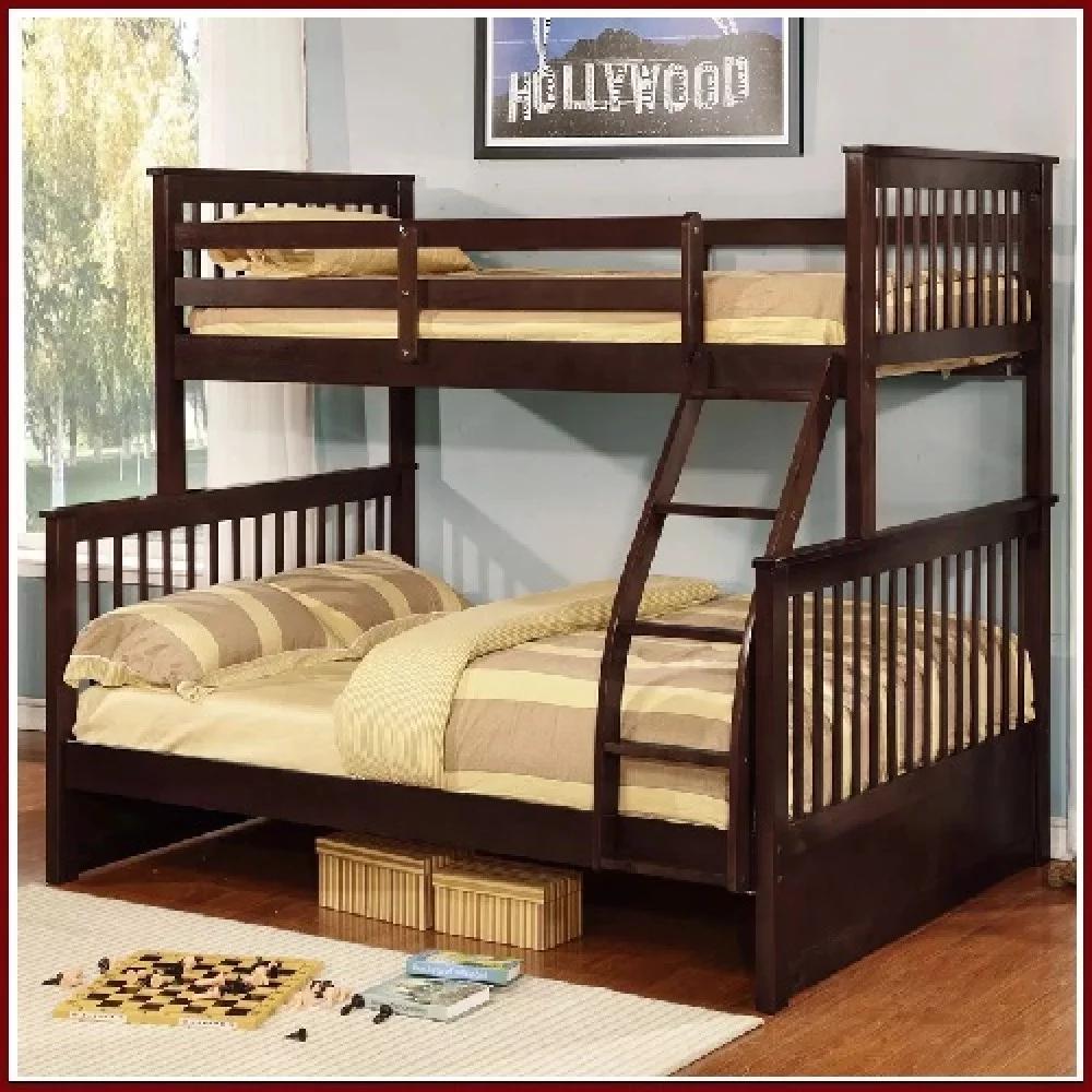 Giường tầng gỗ người lớn 2