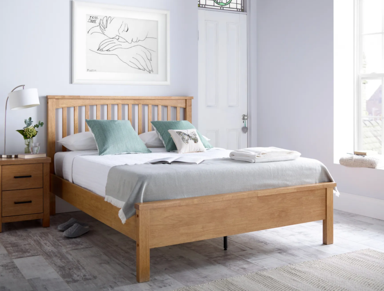 oakridge wooden bed frame
