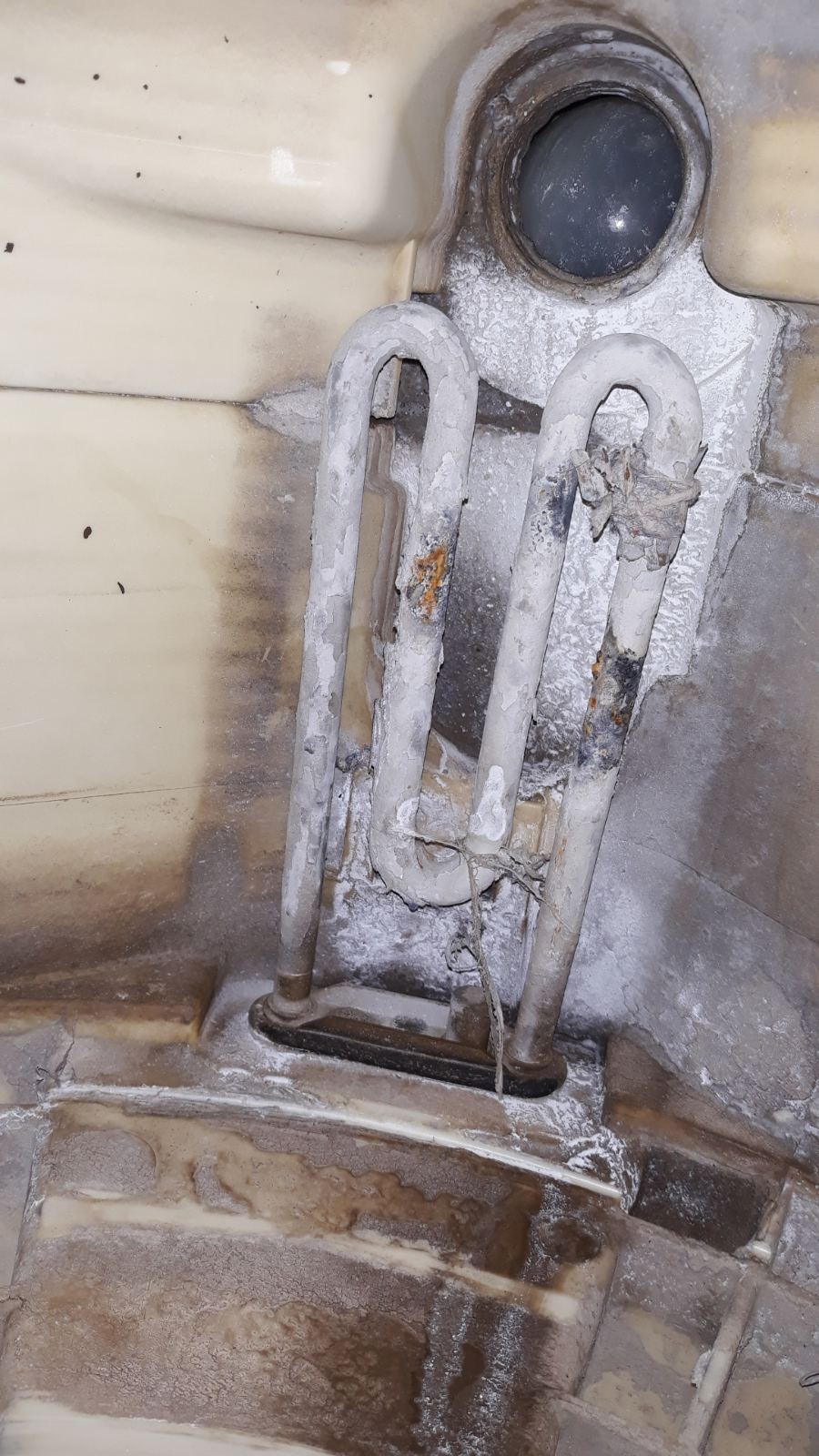 Неисправен тен стиральной машины