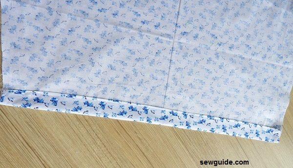 coser un pantalón de pijama