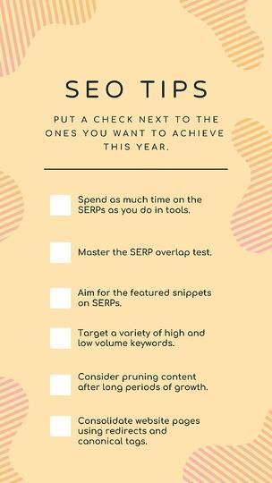18 советов, как вернуть сайт в топ (часть 1) чек лист