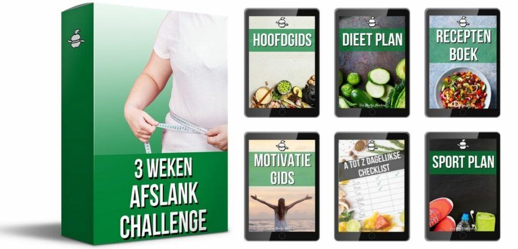 3 weken afslank challenge heeft ook gezonde lunch
