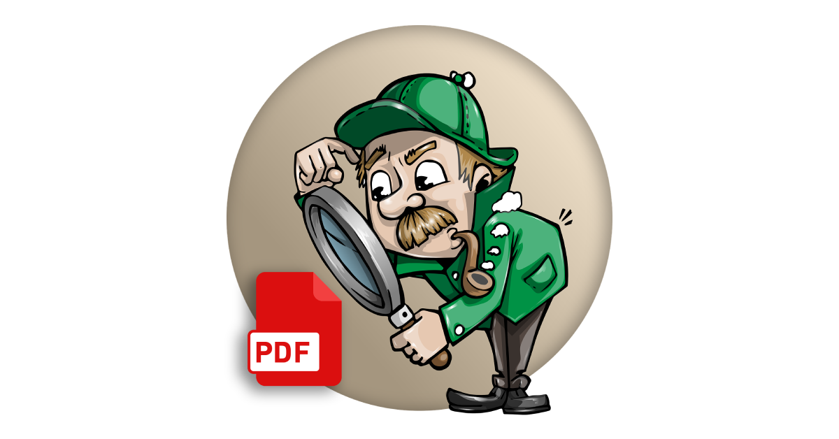 how to search for a PDF