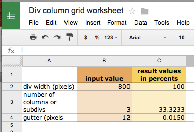 4 Ways Spreadsheets Are Great Tools For Designers