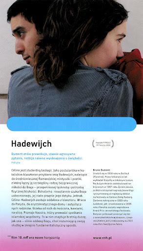 Tył ulotki filmu 'Hadewijch'