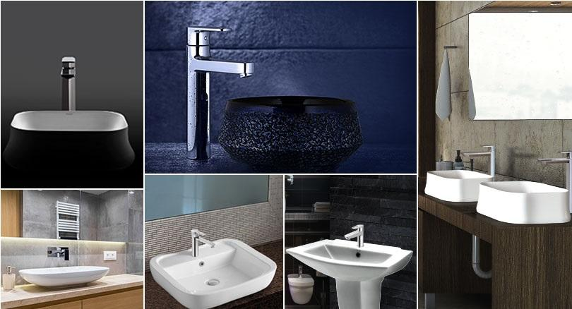 Types Of Bathroom Basins