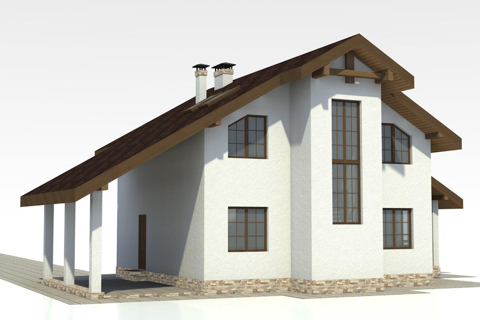 проект домов из арболита бесплатно