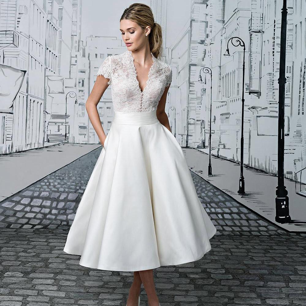 Mid Calf Wedding Dresses Wedding Dresses Thumbmediagroup