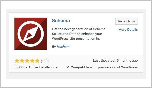 Plugin Schema Markup giúp thêm Schema Structured Data vào Blog WordPress.