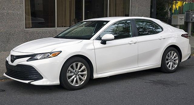 White Toyota Camry