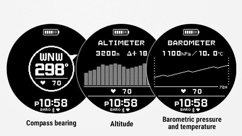 Dodatkowe czujniki w smartwatchu od G-SHOCK