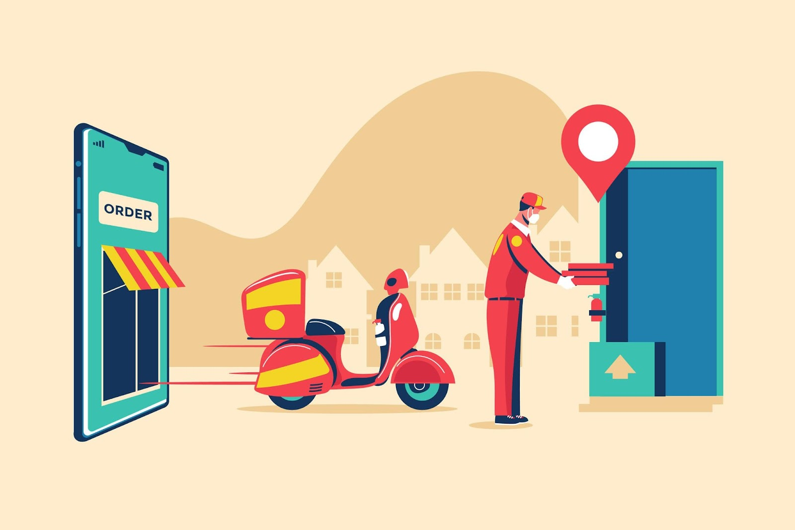 Use of Predictive models in food delivery sector