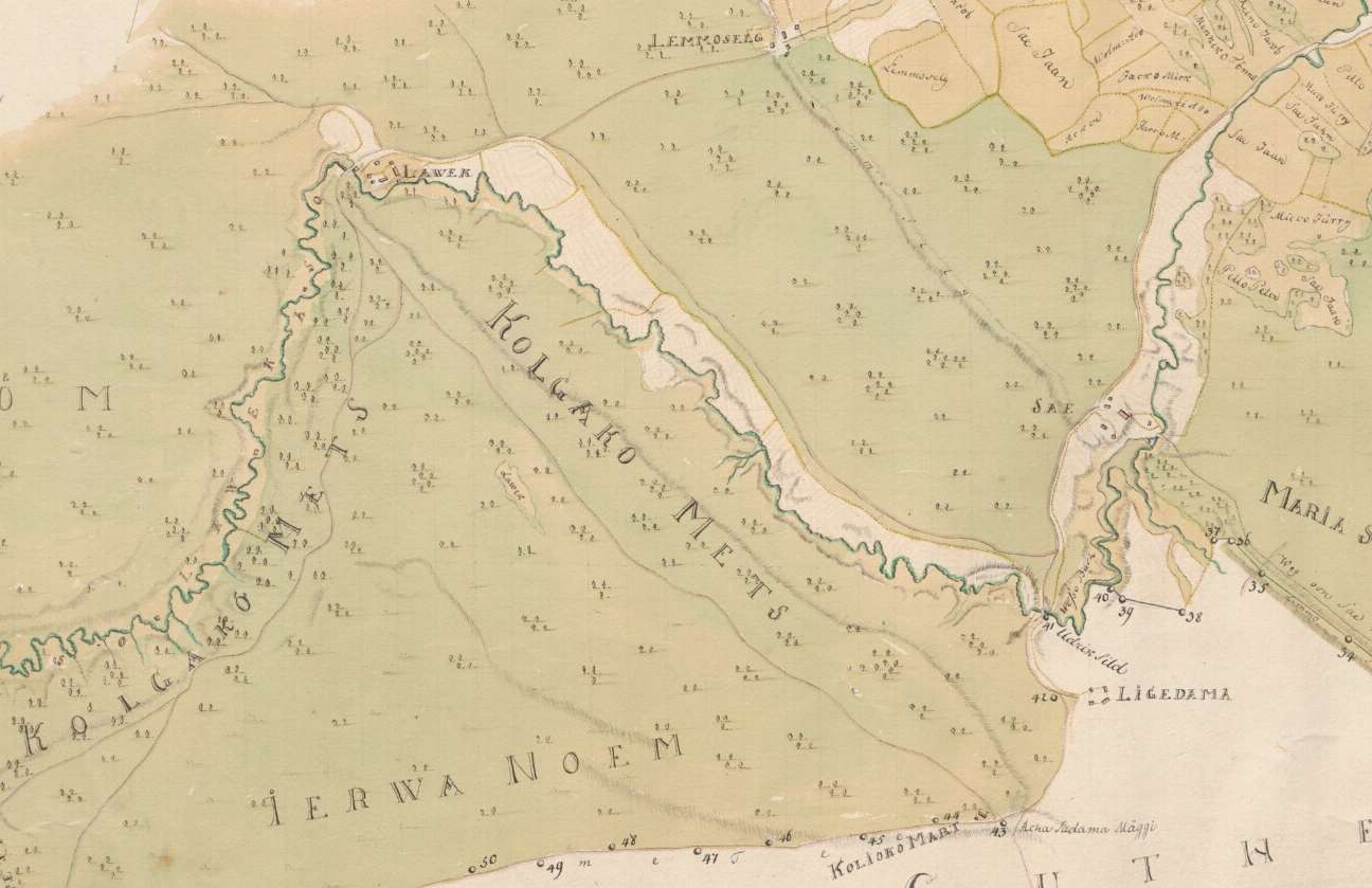 A close up of a mapDescription automatically generated