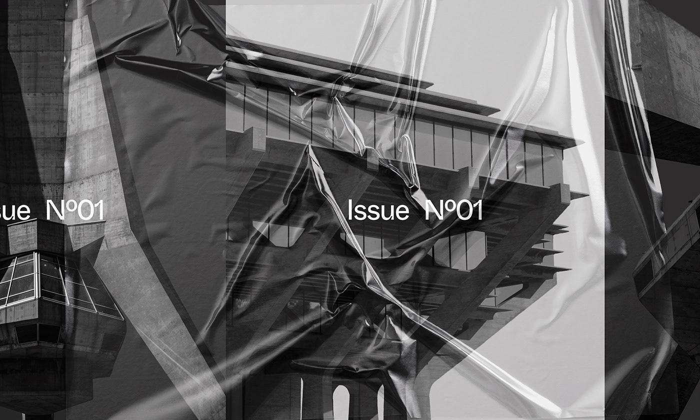 Editorial Design : New Brutalism Controversial Concrete 5