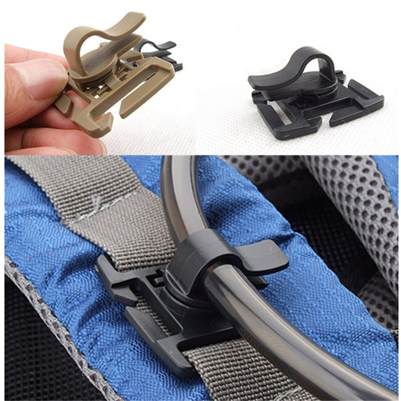 Drink Tube Clip To Backpack For Hiking