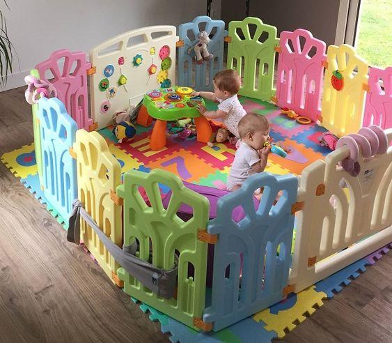 elegir un parque infantil tipo corralito