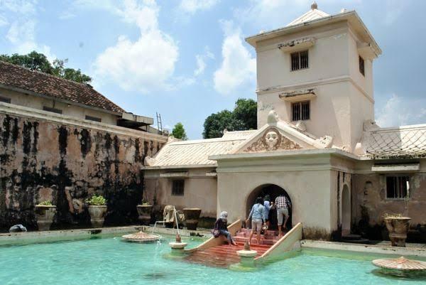 Image result for taman sari water castle