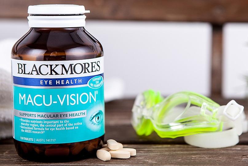 Review thuốc bổ mắt Blackmores Macu Vision của Úc