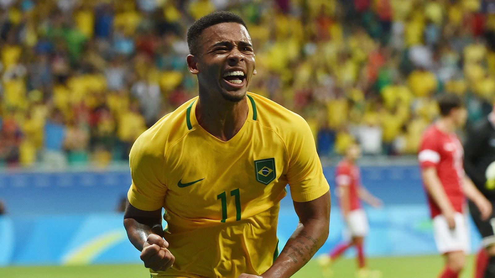 Жезус стал лучшим игроком матча Бразилия - Аргентина