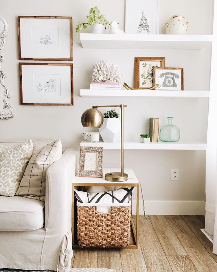 Pretty Floating Shelf