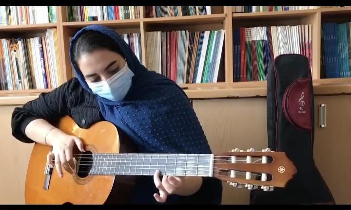 جمعه فرهاد شقایق رامیانپور هنرجوی گیتار فرزین نیازخانی