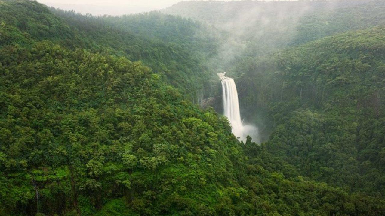 Sural falls in Belgaum